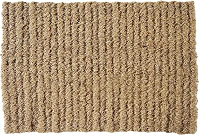 NACH Classic Natural Coir Rope Entryway Doormat, Medium, 100% Coconut Coir (16x24in 1.5 cm Thick) - FW-283M by North American Country Home