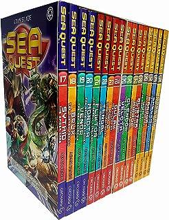 Sea Quest Series 5-8 Adam Blade Collection 16 Books Set