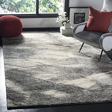 SAFAVIEH Retro Collection RET2891 Modern Abstract Non-Shedding Living Room Bedroom Dining Home Office Area Rug, 9' x 12&#
