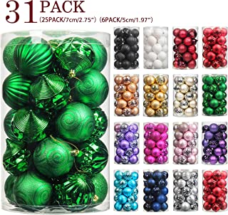 large green baubles