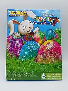 Tie Dye Easter Glitter Egg Decorating Kit