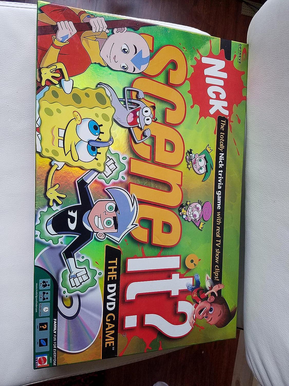 Mattel Cheap Dedication sale Scene It? Nickelodeon Board Game DVD