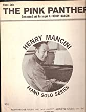 Sheet Music THE PINK PANTHER Henry Mancini Piano Solo