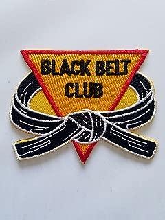 Black Belt Club Patch