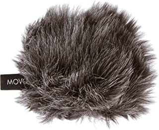 Movo WS-G1 Furry Microphone Windscreen for Zoom H1n Recorder - Outdoor Microphone Cover for Small Microphones up to 2.5
