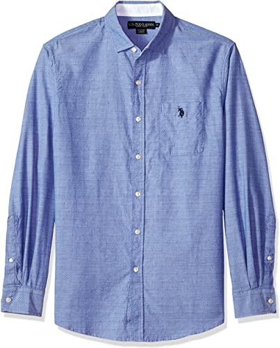U.S. Polo Assn. Homme Manches Longues Chemise boutonnée