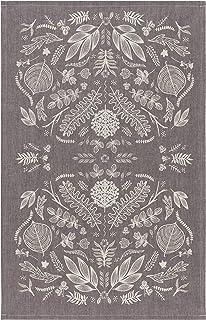 Now Designs Tt Chambray Laurel Kitchen Towel, Gray