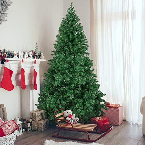 Best Choice Products 6ft Premium Hinged Artificial Christmas Pine Tree  w/Solid Metal Stand ( - Christmas Trees Clearance: Amazon.com