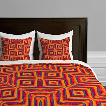Deny Designs Wagner Campelo Sanchezia X Duvet Cover,  Twin/Twin XL