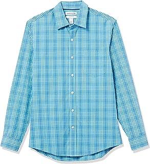 Amazon Essentials Slim-fit Long-Sleeve Stripe Shirt Hombre