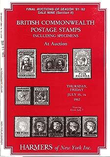 British Commonwealth Postage Stamps Including Specimens (H.R. Harmer, Inc., Sales 2640-2642)