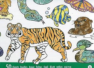 Melissa & Doug Jumbo Colouring Pad 50 Pictures Animals, 30 x 36 cm