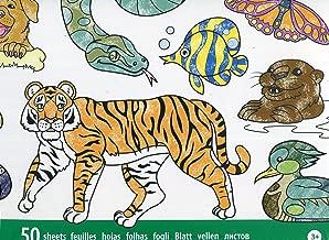 Melissa & Doug - Bloc Gigante de Animales para Colorear