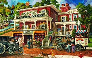 300 Piece Puzzle for Adults - Large Piece - Country Store Jigsaw Puzzle