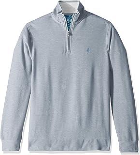 IZOD Men's Saltwater Quarter-Zip Sweater Pullover