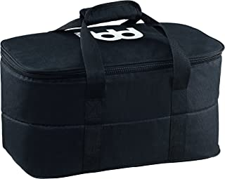 Meinl Bongo Gig Bag - Standard Size- Heavy Duty Nylon with Internal Padding and Strong Carrying Grip, Black (MSTBB1)