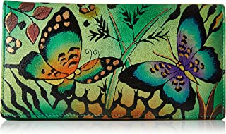 Anna By Anuschka Women's Leather Hand Painted Clutch Wallet