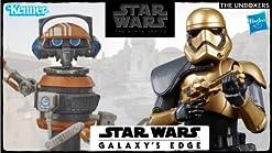 Star Wars The Black Series DJ R-3X Toy 15 cm Scala Star Wars Galaxys Edge Collectible Action Figure Giocattoli per bambini dai 4 anni in su