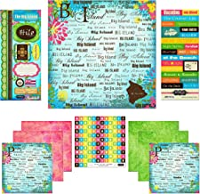 Scrapbook Customs Themed Paper and Stickers Scrapbook Kit, The Big Island Paradise