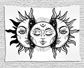 tapestries sun and moon