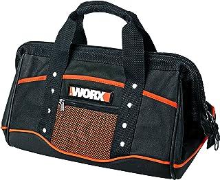 WORX WA0076 opbergtas – gereedschapskoffer zonder gereedschap in eenvoudig zwart met dubbele draaggreep – voor het praktis...