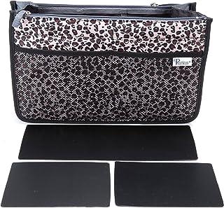 Periea Handbag Organizer - Chelsy - Premium Firm Range - 3 Colours Available - Small, Medium Large (Large, Gold Leopard)