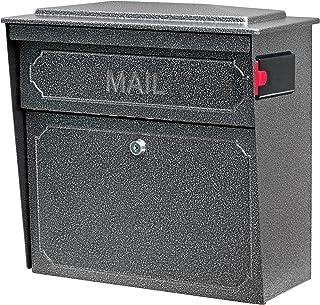 Mail Boss 7175 Townhouse Locking Security Wall Mount Mailbox, Galaxy,Medium