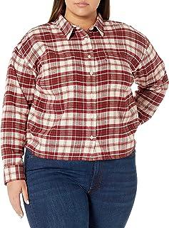 Levi's Women's Plus-Size Maple Utility Shirt