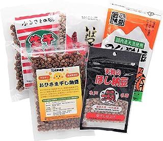 茨城県産干し納豆 味くらべ5種・Aセット(計600g) [5sA]