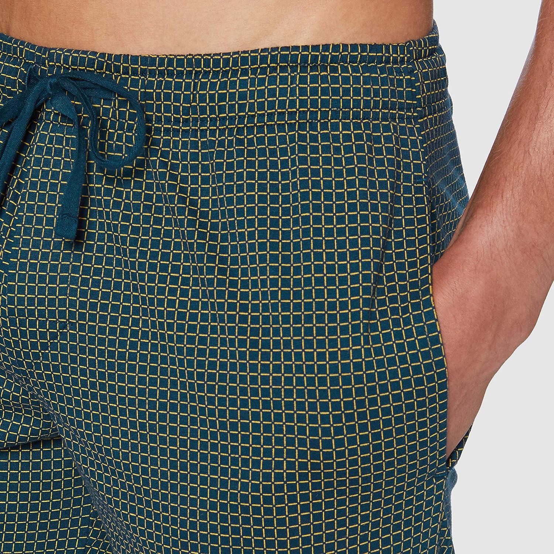 Schiesser Mix /& Relax Long Boxer Pantalones de Pijama para Hombre