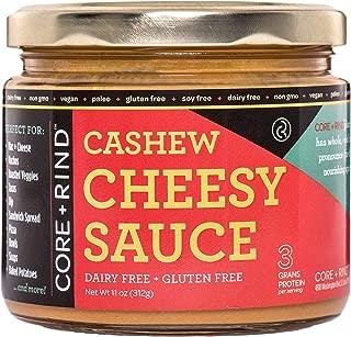 CORE + RIND Cashew Cheesy Sauce, Original Cheesy, 11 ounces