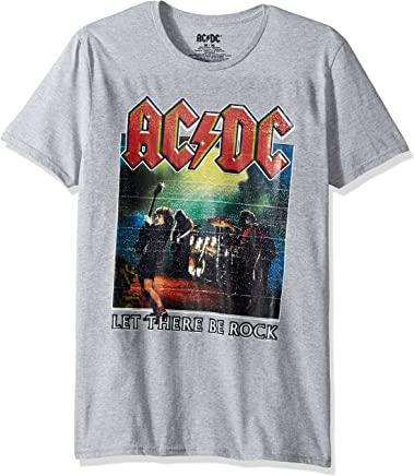c162e84c5 AC/DC Men's Let There Be Rock Graphic Tee