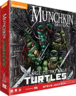 Munchkin Teenage Mutant Ninja Turtles Deluxe Card Game