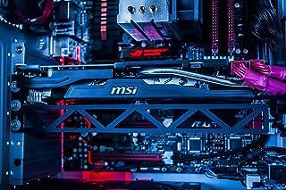 Fourth Level Manufacturing Soporte de Tarjeta gráfica con Soporte para Tarjeta de Video GPU para Escritorio Personalizado para Juegos de PC (Minería Bitcoin) 12 Pulgadas Negro
