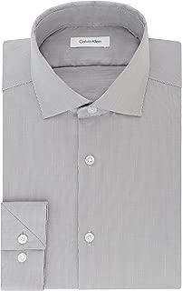 Calvin Klein Men's Dress Shirt Slim Fit Non Iron Stretch...