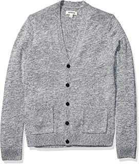 Amazon Brand - Goodthreads Men's Supersoft Marled Cardigan Sweater