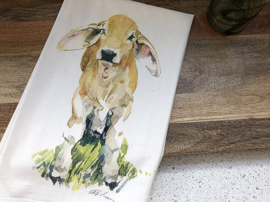 Baby Brahman Cow Flour Sack Kitchen Towel