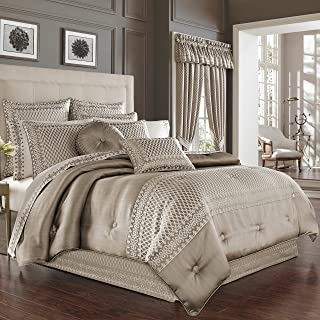Five Queens Court Beaumont King Comf Set, Champagne