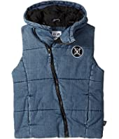 Nununu - Denim Vest (Little Kids/Big Kids)