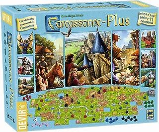 Devir - Carcasonne Plus, juego básico + 11 expansiones (