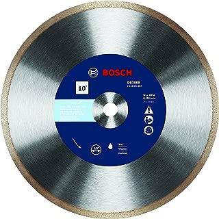 Bosch DB1069 10 In. Rapido Premium Continuous Rim Diamond Blade for Glass Tile