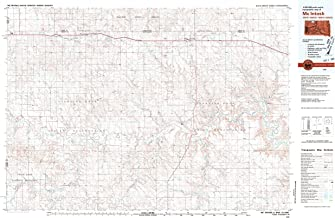 YellowMaps McIntosh SD topo map, 1:100000 Scale, 30 X 60 Minute, Historical, 1980, Updated 1981, 24.2 x 37.7 in