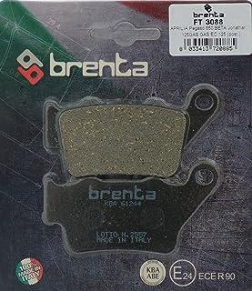 Brenta Bremsbeläge Organische Motorrad für Alfer VRE 1254Stroke, VR 250Motocross, Aprilia