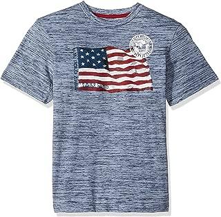 Boys' Short Sleeve American Flag T-Shirt