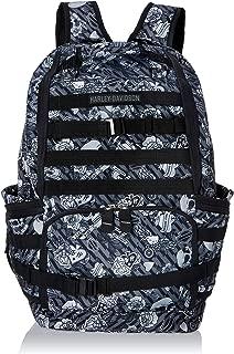 Harley Davidson Stellar Backpack, Grey Tattoo, One Size
