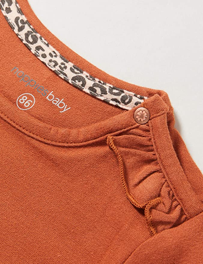 Noppies Baby-M/ädchen G Regular Ls Roedtan T-Shirt