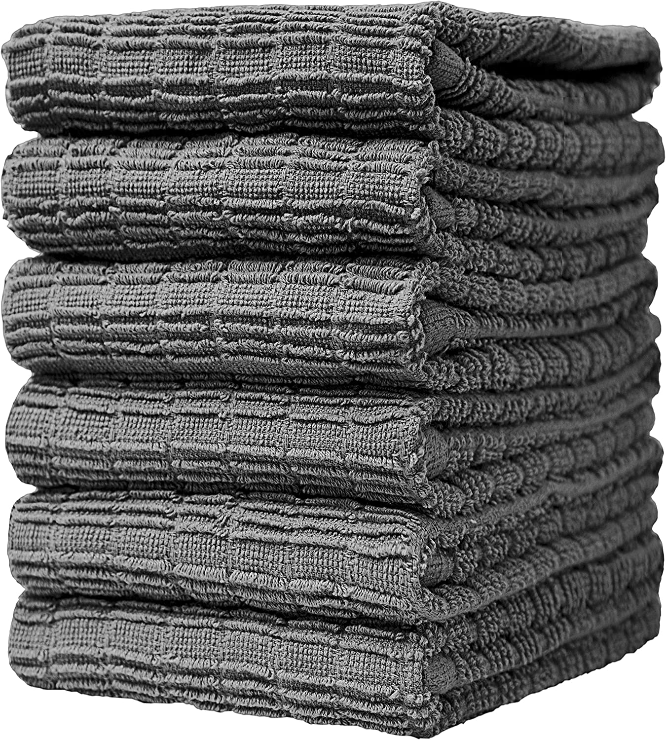 """Premium Max 62% OFF Jacksonville Mall Kitchen Towels 16""""x 28"""" Pack 6 Large –"""