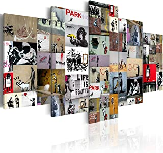 murando Impression sur Toile intissee 100x50 cm 5 Parties Tableau Tableaux Decoration Murale Photo Image Artistique Photog...