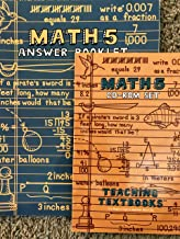 Teaching Text Books Math 5 Work Book And The Answer Keys. by Greg Sabouri (2007-05-03)