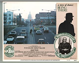MOVIE POSTER: Being There-Peter Sellers-Color-Lobby Card-11x14